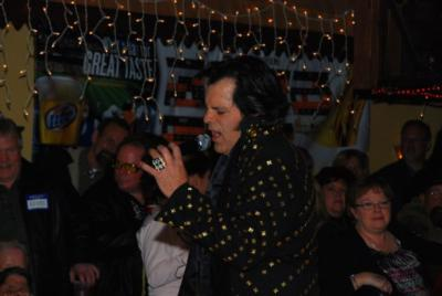 "Elvis Tribute Artist ""Johnny P"" 