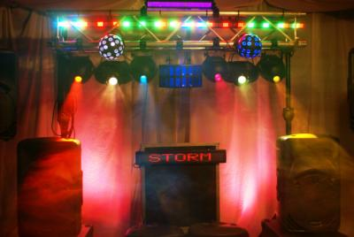 Storm DJ Show Afterglow Uplighting Up Lights  | Bay City, MI | DJ | Photo #10