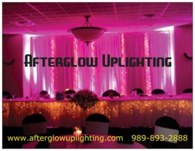 Storm DJ Show Afterglow Uplighting Up Lights  | Bay City, MI | DJ | Photo #4