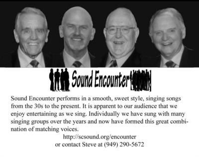 Sound Encounter | Laguna Woods, CA | Barbershop Quartet | Photo #3