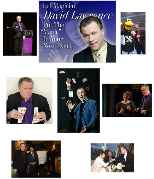 David Lawrence-ComedyMagician/Entertainer - Comedy Magician - Pittsburgh, PA
