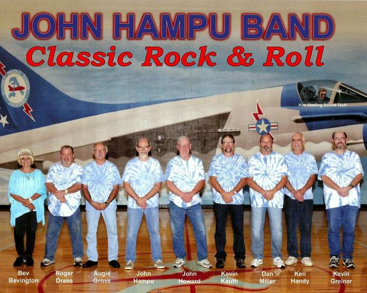 Classic Rock & Roll with The John Hampu Band - Cover Band - Alliance, OH