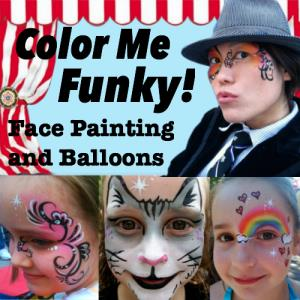 Woodville Face Painter | Color Me Funky!