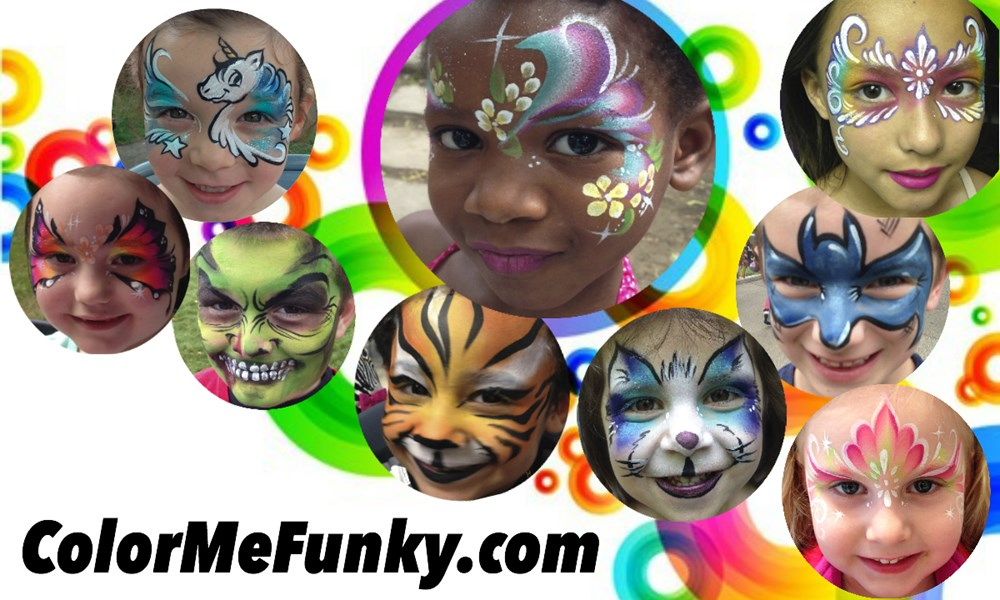 Color Me Funky! - Face Painter - Cambridge, MA
