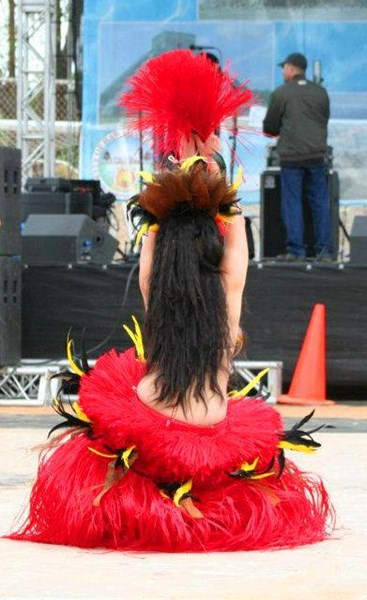 Me doing Tahitian dance