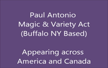 Paul Antonio Magic And Variety Act | Buffalo, NY | Magician | Juggling And Unicycling Another part of the Act