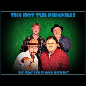 Moody 70s Band | The Hot Tub Piranhas
