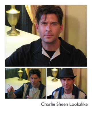 "Jeff ""The Masheen"" Barnett - as Charlie Sheen 