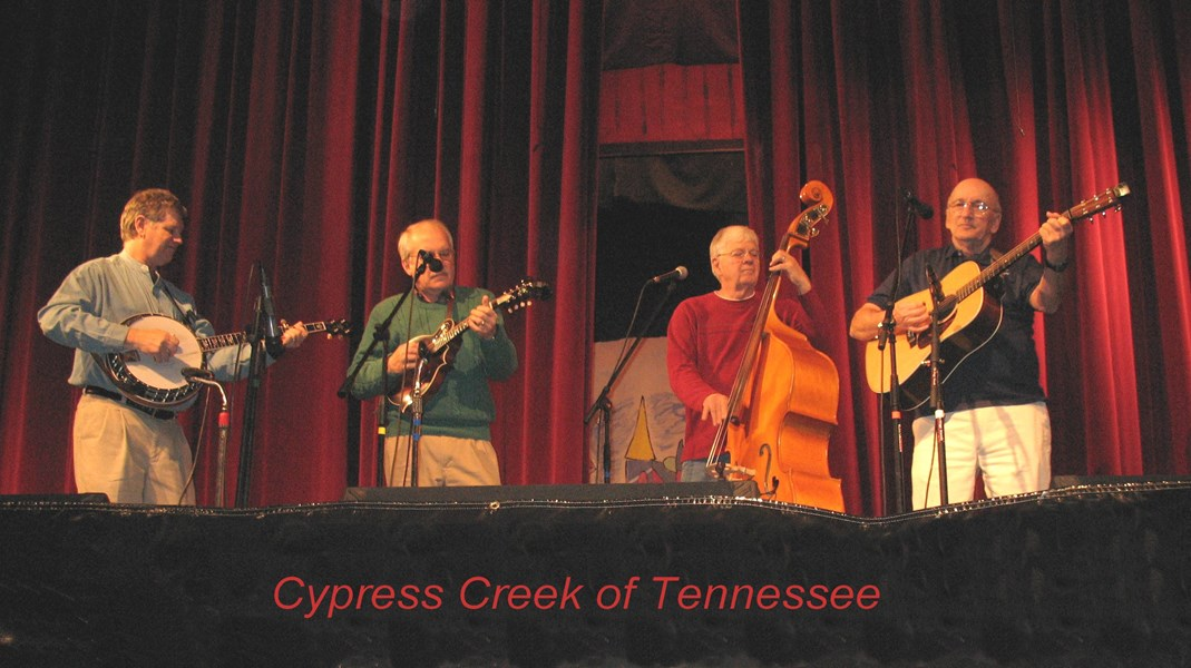 Cypress Creek - Bluegrass Band - Memphis, TN
