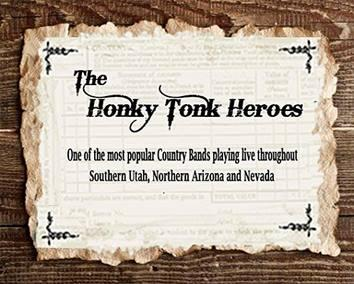 The Fabulous Honky Tonk Heroes - Country Band Saint George