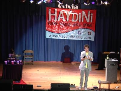 Haydini: Rare Magic, Well Done! ™ | Charlotte, NC | Magician | Photo #7