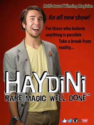 Haydini: Rare Magic, Well Done! ™ | Charlotte, NC | Magician | Photo #2