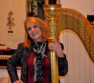 Margaret Atkinson -  4 The Dallas Strings | Dallas, TX | Harp | Photo #25