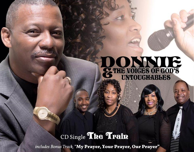 DONNIE & THE VOICES OF GOD'S UNTOUCHABLES - Gospel Band - Fayetteville, NC