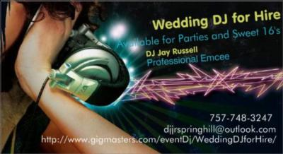 Wedding DJ For Hire! | Spring Hill, FL | Event DJ | Photo #8