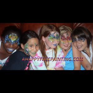 Dartmouth Face Painter | A Happy Face Painting