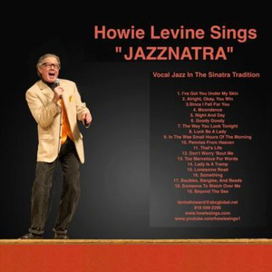 "Duck Creek Village Jazz Singer | Howie Levine Sings ""JAZZNATRA"""