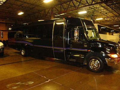 Around Town Limousine | Weymouth, MA | Party Bus | Photo #2