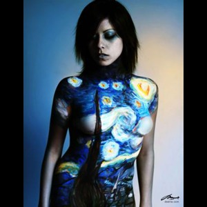 New York City Body Painter | DenArt body painting studio
