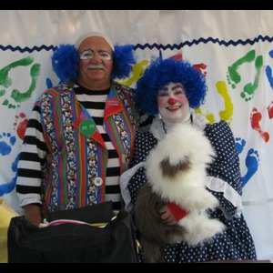 """Clowning Around"" with Trixy and Jo Jo - Singing Telegram - Des Moines, IA"
