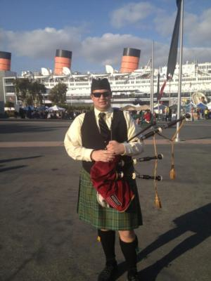West coast bagpiper | San Jose, CA | Bagpipes | Photo #1