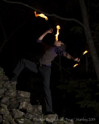 Benjamin Reynolds | Somerville, MA | Fire Dancer | Photo #3