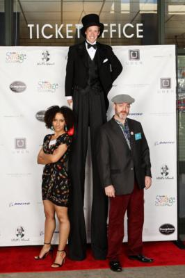 Mickey Rowe Entertainment | Ashland, OR | Stilt Walker | Photo #7