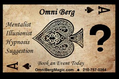 Omni Berg | San Antonio, TX | Magician | Photo #7
