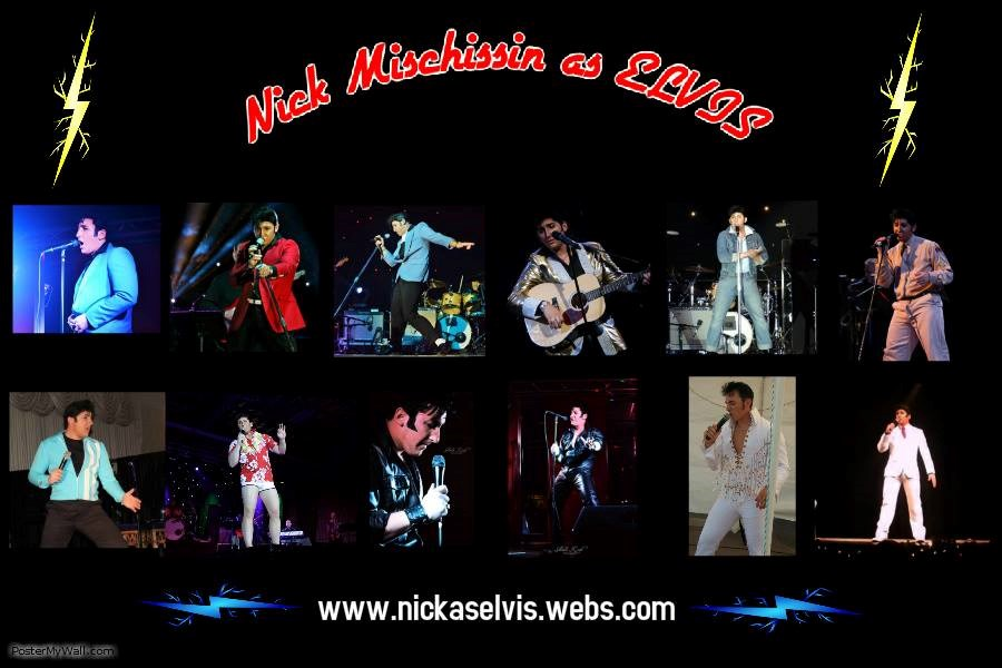 Nick as ELVIS