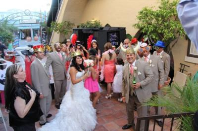 SnapShotDJ Photobooth GreenScreen &LED Up Lighting | Anaheim, CA | Photo Booth Rental | Photo #1
