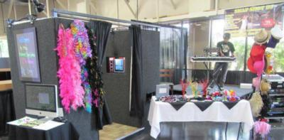 SnapShotDJ Photobooth GreenScreen &LED Up Lighting | Anaheim, CA | Photo Booth Rental | Photo #3
