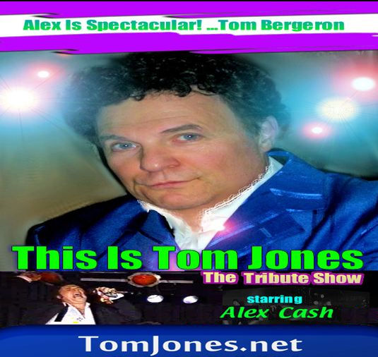 Tom Jones LIVE! Tribute Show - Tom Jones Tribute Act - Boston, MA
