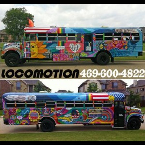 Locomotion Party Bus - Party Bus - Dallas, TX