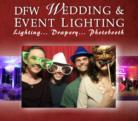 DFW Wedding and Event Lighting - Photo Booth - Plano, TX
