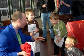 "Christopher T. Magician - The ""T"" stands for Taco! 
