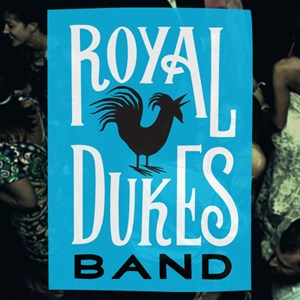 Garfield 80s Band | Royal Dukes Band