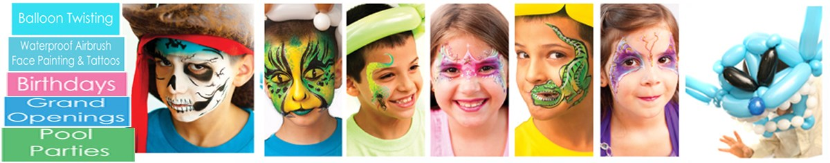 Face Painting & Balloons by Wagner Events