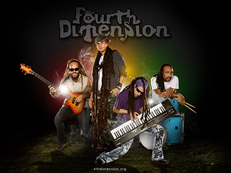 "Fourth Dimension: ""Reggae Out of This World"" - Reggae Band - Hollywood, FL"