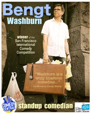 Bengt Washburn | Salt Lake City, UT | Comedian | Photo #2