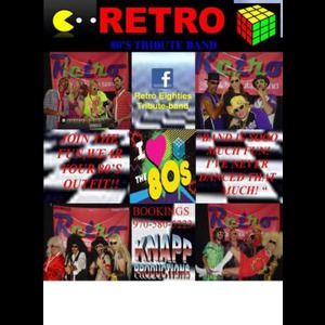 Camp Crook 80s Band | Retro
