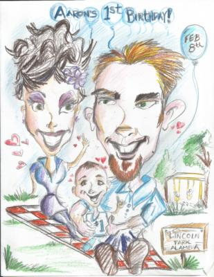 Mike's Fastest Caricatures | Alameda, CA | Caricaturist | Photo #19