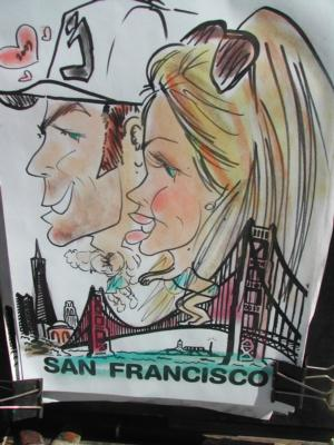 Mike's Fastest Caricatures | Alameda, CA | Caricaturist | Photo #5