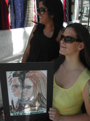 Mike's Fastest Caricatures | Alameda, CA | Caricaturist | Photo #2