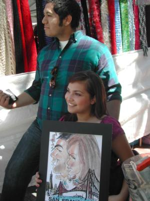 Mike's Fastest Caricatures | Alameda, CA | Caricaturist | Photo #9