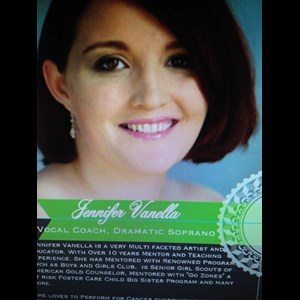 Pittsburgh Classical Singer | Jennifer Vanella International Vocalist