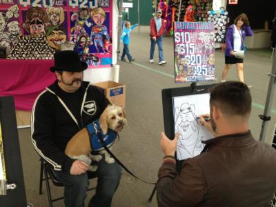 Over The Line Art | Seattle, WA | Caricaturist | Photo #9