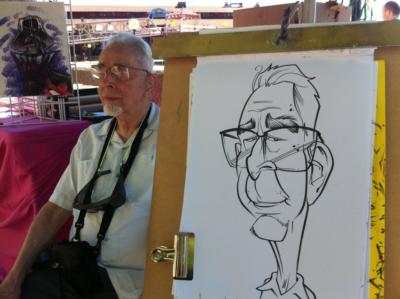 Over The Line Art | Seattle, WA | Caricaturist | Photo #2