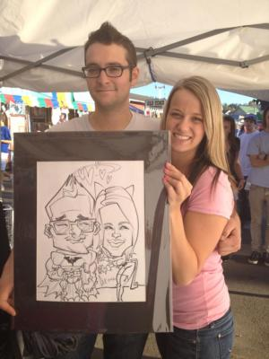Over The Line Art | Seattle, WA | Caricaturist | Photo #14
