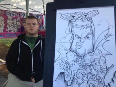 Over The Line Art | Seattle, WA | Caricaturist | Photo #11