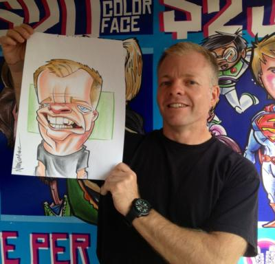 Over The Line Art | Seattle, WA | Caricaturist | Photo #12